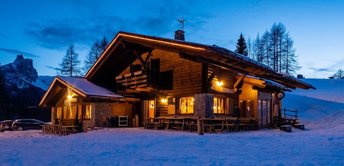 Baita Resch a Son dei Prade - Cortina d'Ampezzo : Ristorante e bar